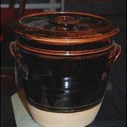 A Traditional Guernsey Bean Jar