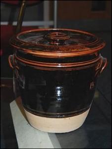 A Traditional Guernsey Bean Jar