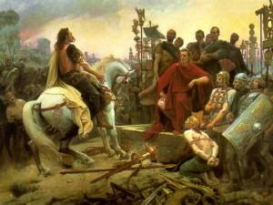The Gauls Surrender to Caesar