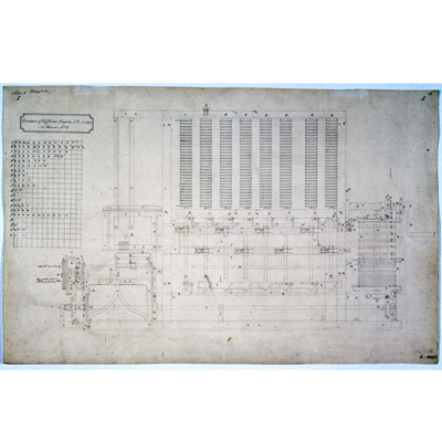 Charles Babbage Computer Pioneer – Difference Engine Diagram