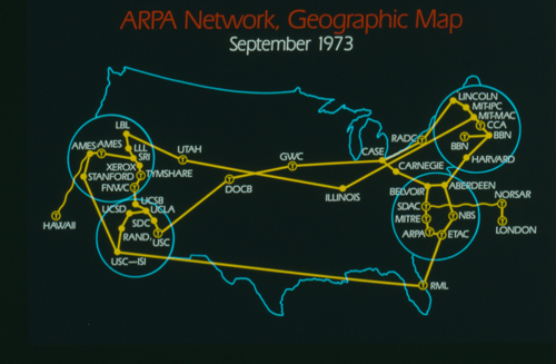 arpanet the origin of the internet In 1968 steve crocker heads ucla network working group under professor leonard kleinrock to develop host level protocols for arpanet communication in preparation for becoming the first node the group, which includes vint cerf and jon postel, lays the foundation for protocols of the modern internet in 1969 dr howard frank co-writes the proposal that wins the contract to design the network.