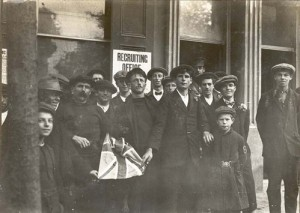 Recruiting for war and the 16th irish division, St Peter Port 1915