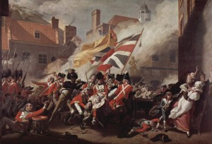 The Death of Major Pierson by John Singleton Copley
