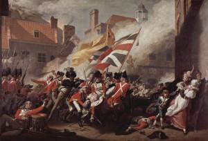 The Death of Major Pierson by John Singleton Copley