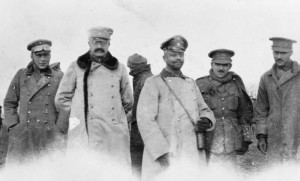 The 1914 Truce : British & German Officers