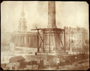 Fox Talbots Construction of Nelsons Column1844