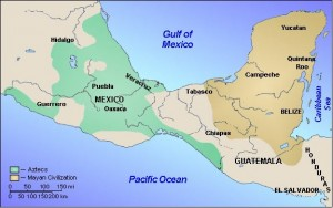 The Aztec Empire in 1518