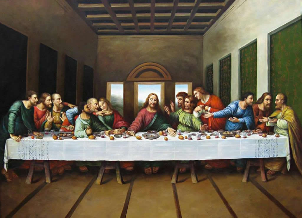 Why is Friday the 13th Considered Unlucky ... Da Vinci Last Supper Original