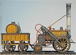 Model of Stephenson's Rocket