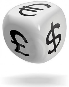 dice cube currency symbols