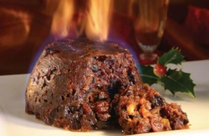 A Flaming Christmas Pudding