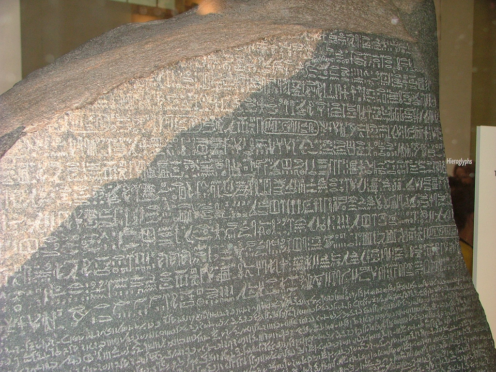 Unlocking the Secret of Egyptian Heiroglyphs – The Rosetta ... Rosetta Stone