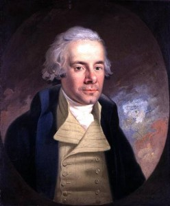 William Wilberforce  leader of the movement to abolish the slave trade