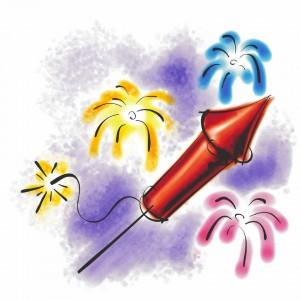 Guy Fawkes Sky Rocket Fireworks