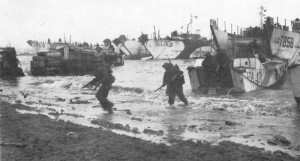 D-Day : British Troops Storm Ashore