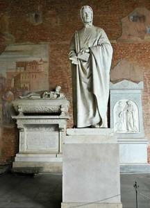 Leonardo Pisano's Burial Place in the Camposanto