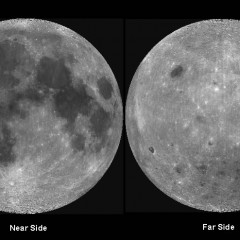 Why is there a dark side of the moon?