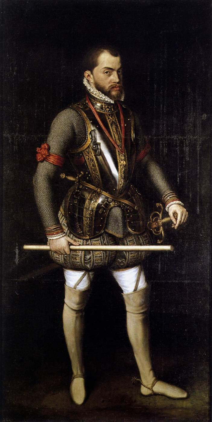 philip ii of spain The inquisition was going strong in spain under felipe ii and it  the  disparaging view of philip ii held by many was incorrect, and that he was.