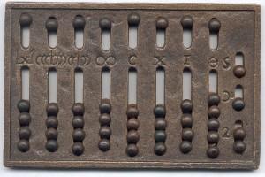 Roman Hand Abacus