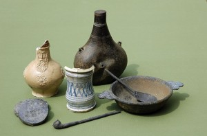 Selection of Artefacts from the Wreck