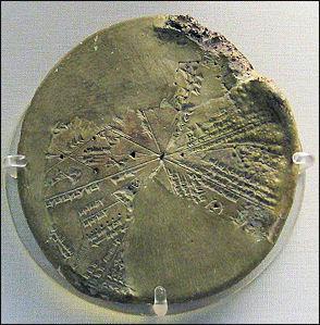 Sumerian Planisphere