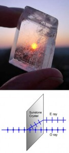 Sunstone & Diffraction Diagram
