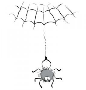 spider comic web