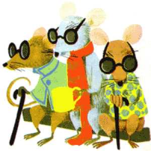 Image result for three blind mice nursery rhyme
