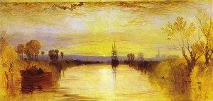 JMW Turner, Chichester Canal
