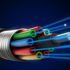 How do Fibre Optics Transfer Data?