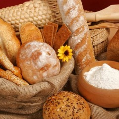 How did Bread become a staple food in the West ?