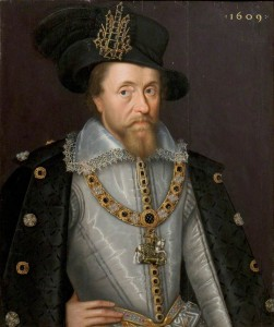 King James I of England & Scotland