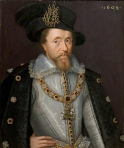 King James I of England & Scotland