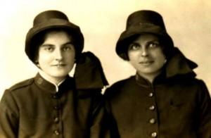Major Marie Ozanne (left)