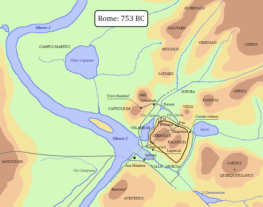 the founding of the eternal city rome fact fiction