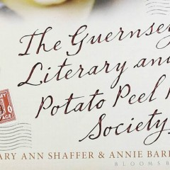 The Guernsey Literary and Potato Peel Pie Society – The Recipe
