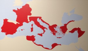 The Roman Empire Around 50BC