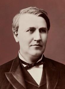 Thomas Edison c1882
