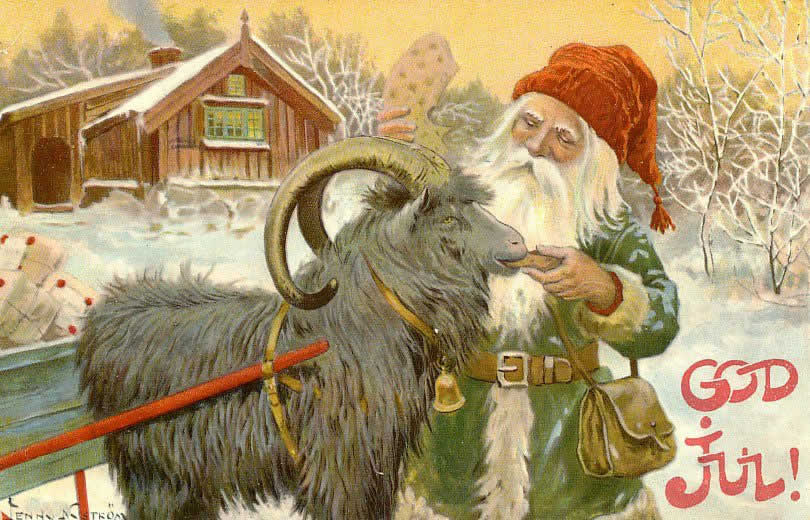 yuletide goat god jul christmas - What Does Christmas Really Mean