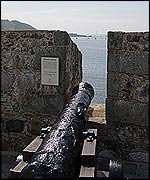 fort grey hms boreas cannon