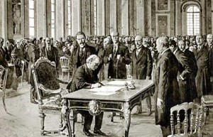 treaty versailles signing