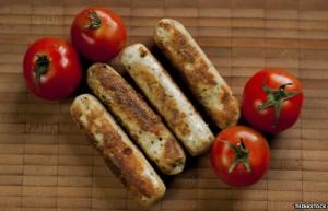 veg-sausages