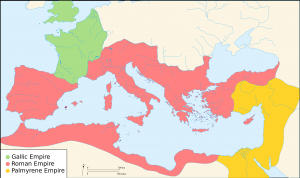 Ancient Rome in 271AD at the time of The Gallic Empire