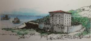Roman Fort in Alderney