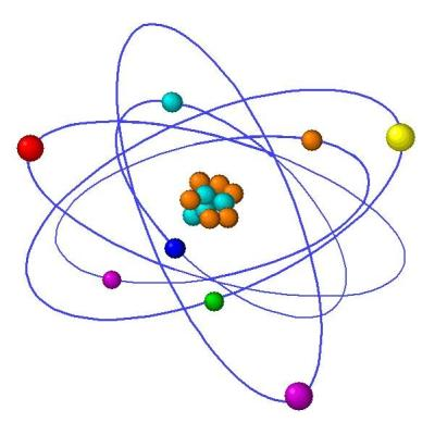 Atom gold atom no background atom chemistry science model democritus atomic theory ccuart Gallery