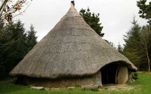 Celtic round house