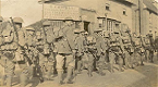 RGLI on Route March from Bourne Camp, June 1917