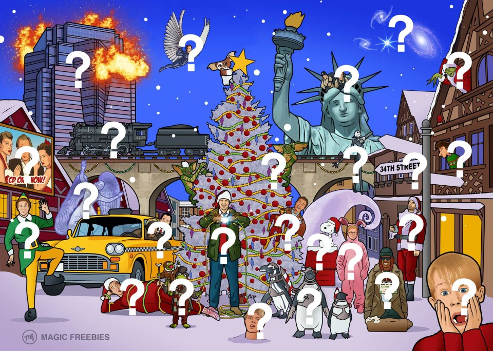 The Holly(wood) and the Ivy : Christmas Quiz Game | guernseydonkey.com