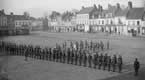 The Royal Guernsey Light Infantry in the Square at Montreuil where they supplied all GHQ Guards
