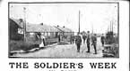 The Soldiers Week in Camp - Postcard sent back home by Sergeant TJ Quevatre
